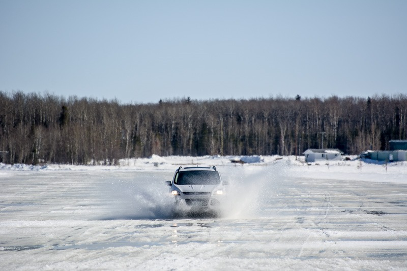Using the Winter Road to Matheson Island