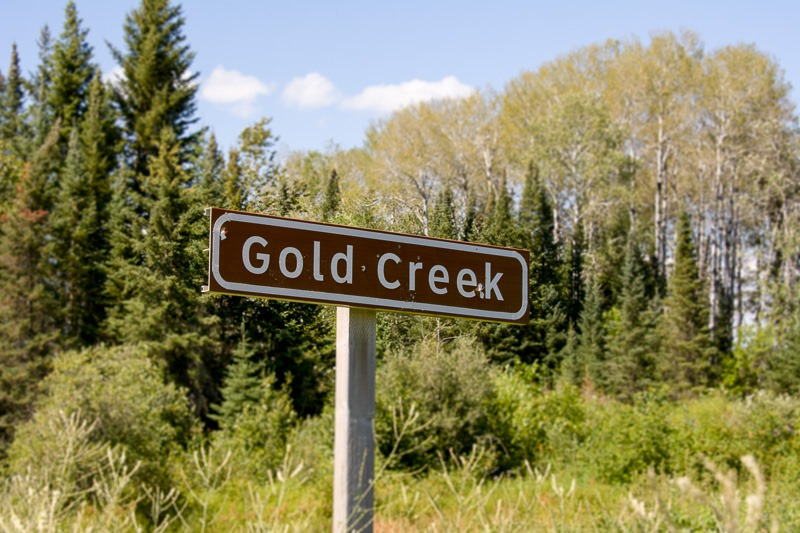 Gold Creek, eh?
