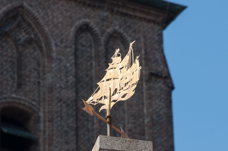 Weathervane of a golden age