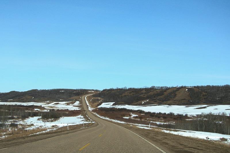 Approaching Sandy Lake