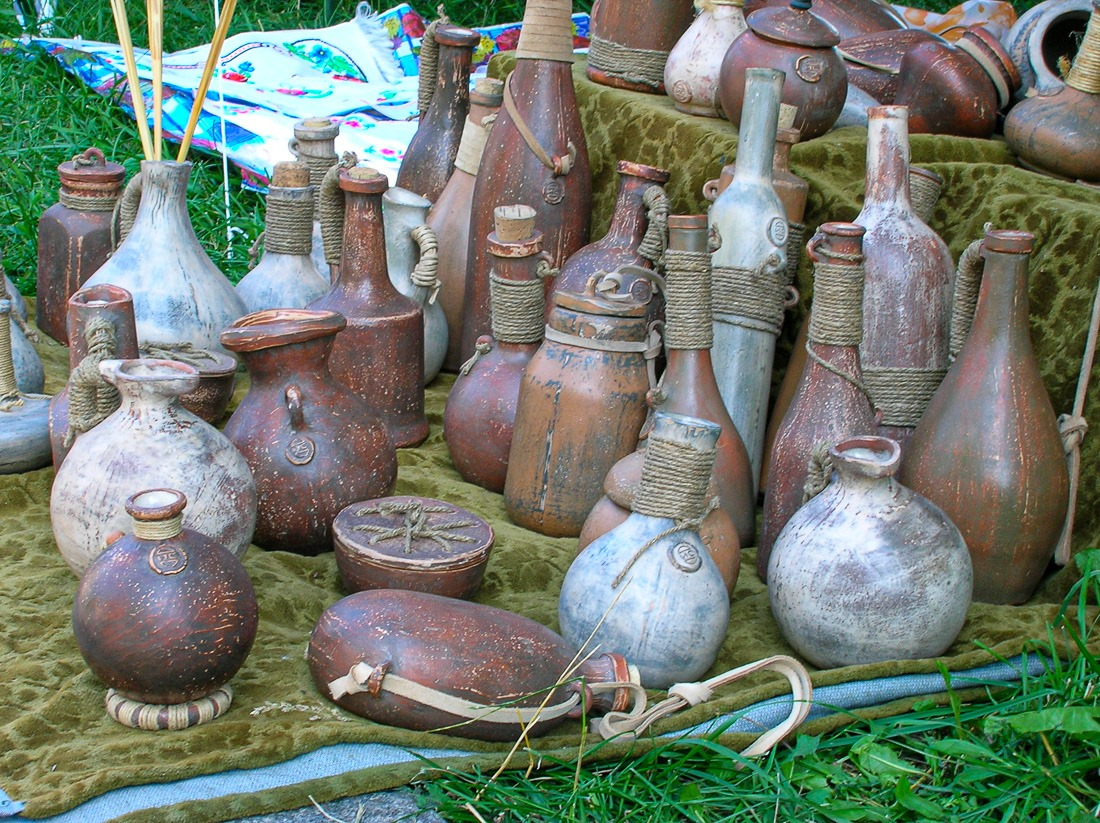 Pottery in Kyiv, Ukraine