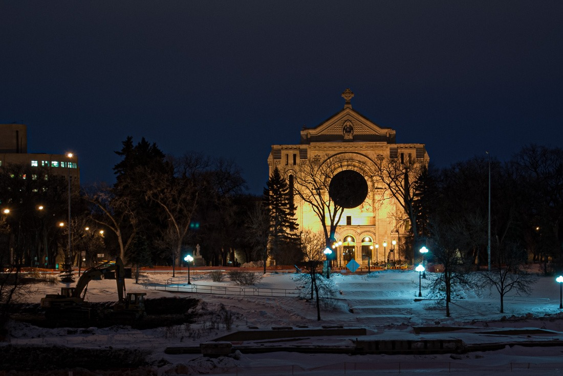 St Boniface Cathedral, Winnipeg