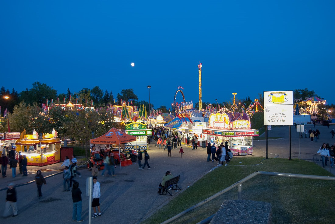 Manitoba Summer fair in Brandon
