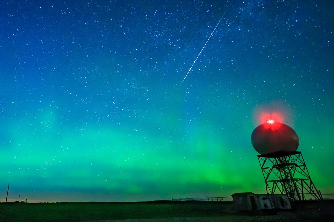 Woodlands Weather Radar and meteorite