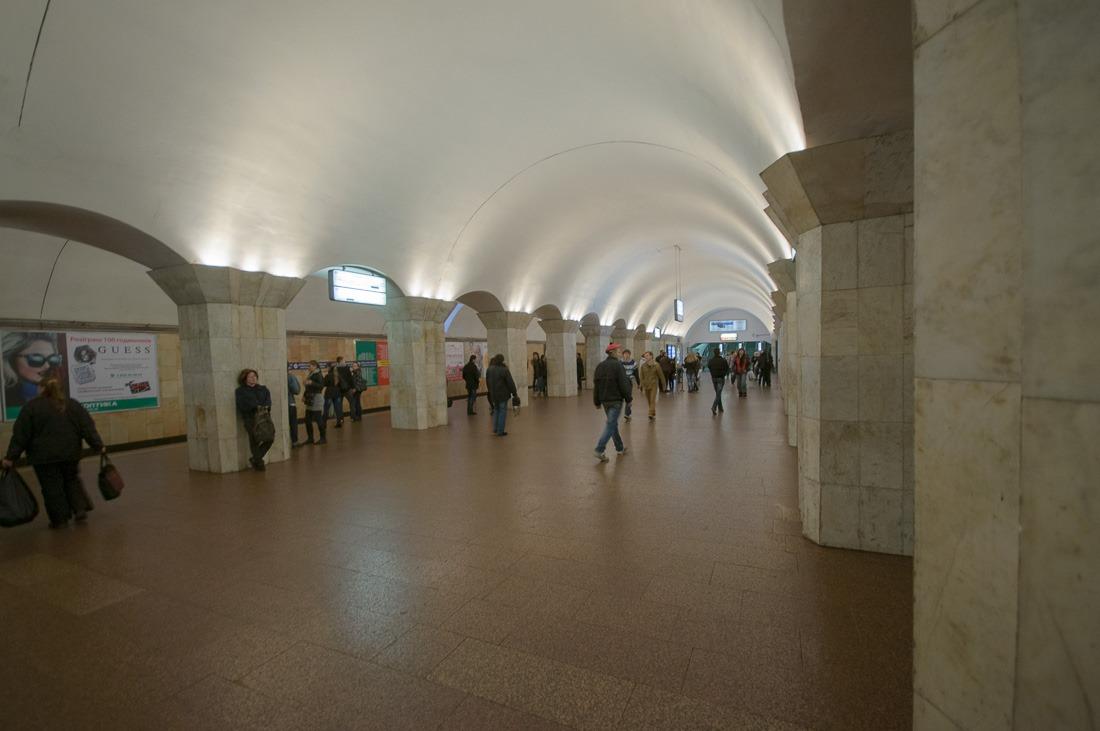 Metro station Maidan Nezalezhnosti, Kyiv