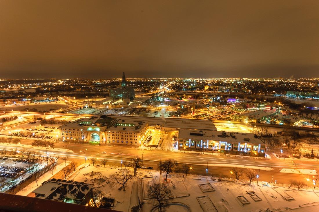 Overlooking East Winnipeg