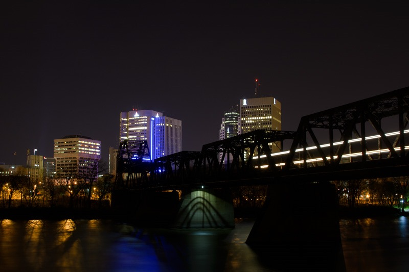 Night train from Downtown