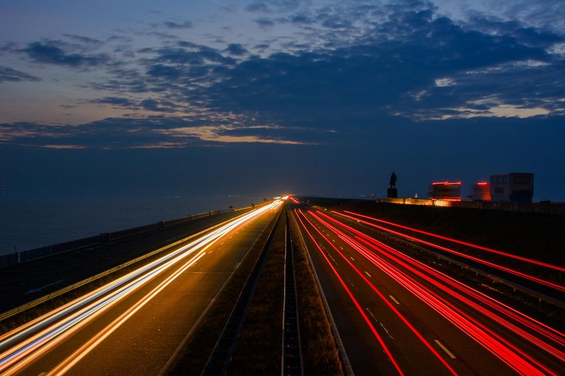 Afsluitdijk - 10s f/11 ISO 100