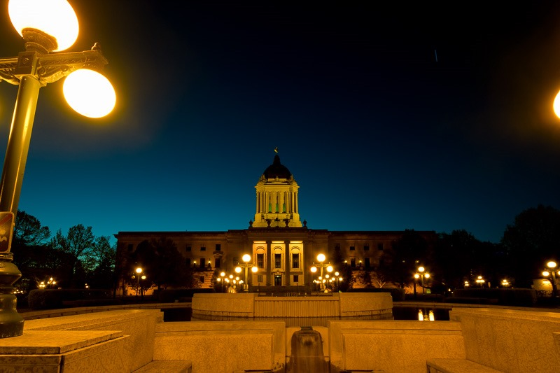 Legislature in the dark, an omen?