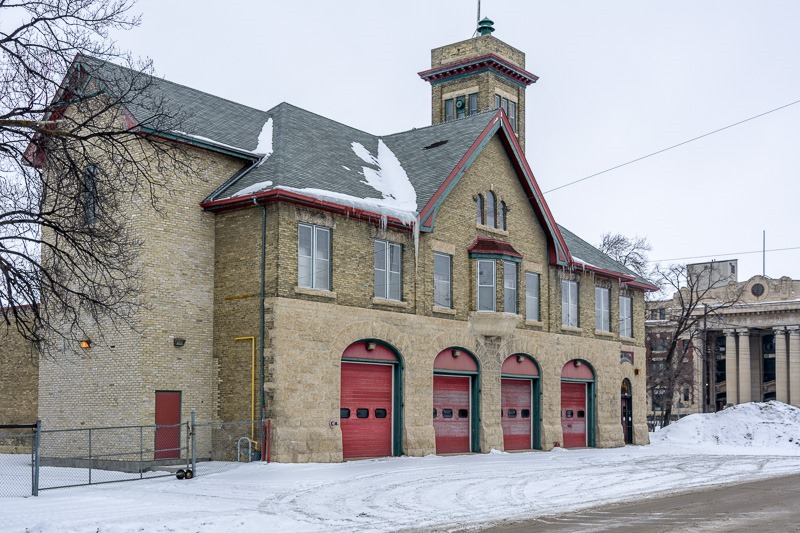 The Fire station on Maple Street, built in 1904
