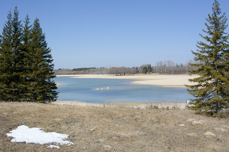 The recreation pond