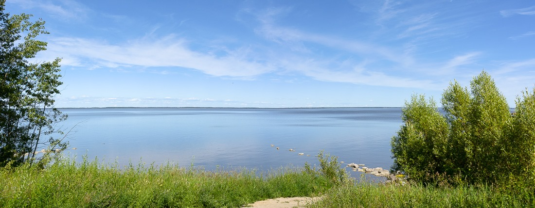 Lake Winnipeg in early summer