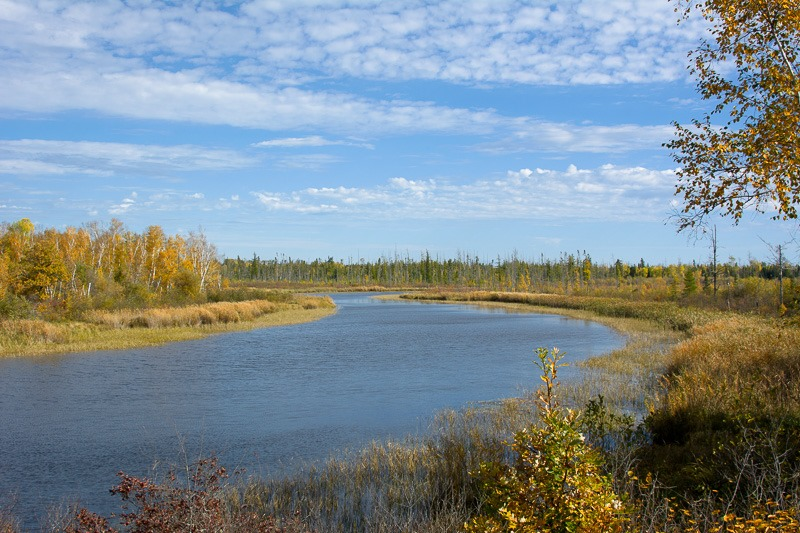 Peaceful Whiteshell River