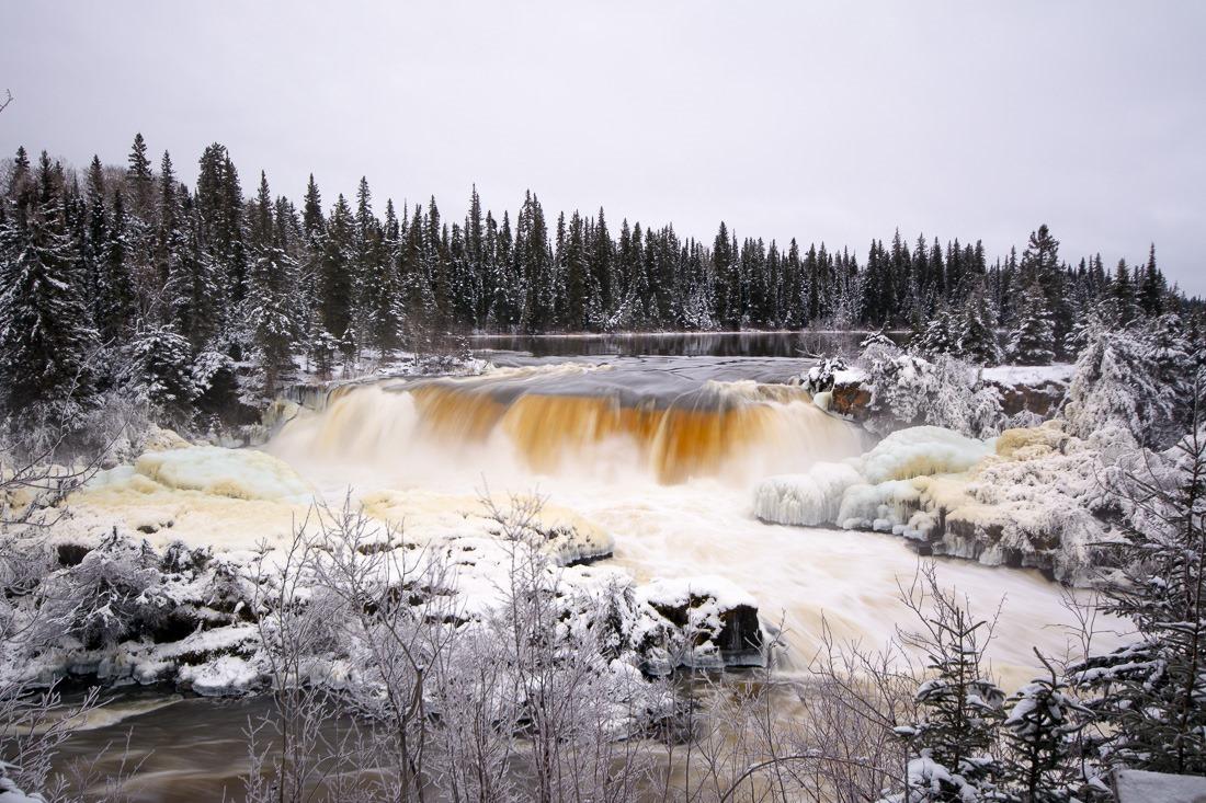 Pisew Falls, 2016