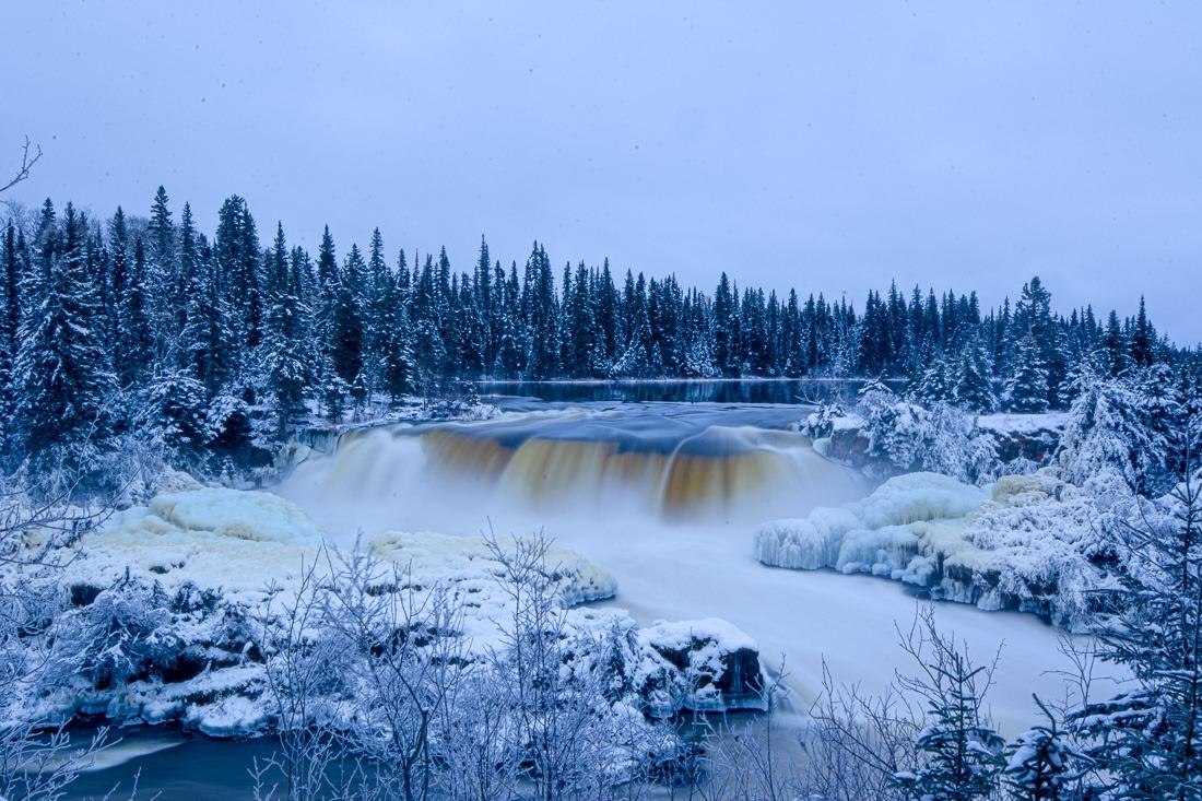 Wekusko Falls – 8.0s f/32 ISO 100