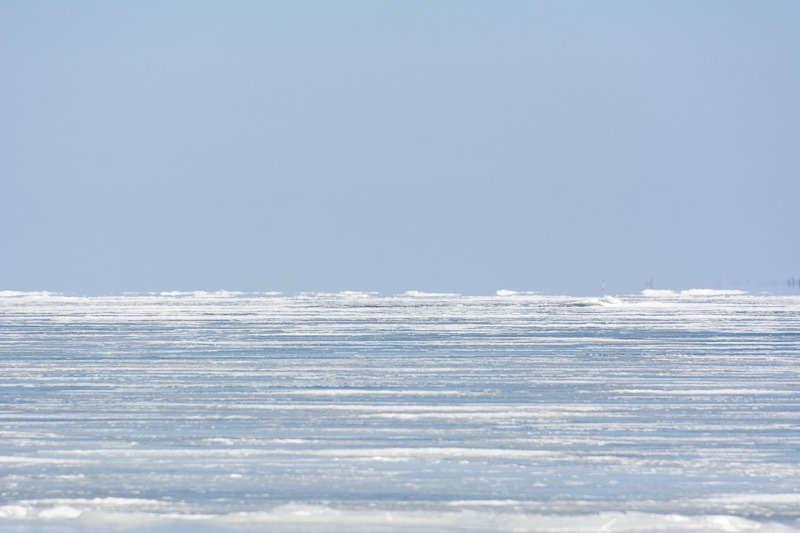 Ice from horizon to horizon
