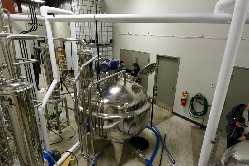 Distillation tank