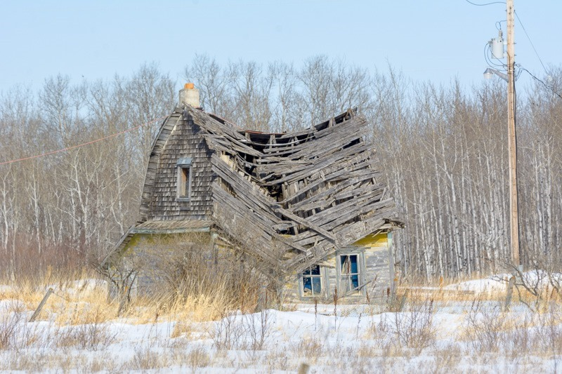 Once a proud homestead
