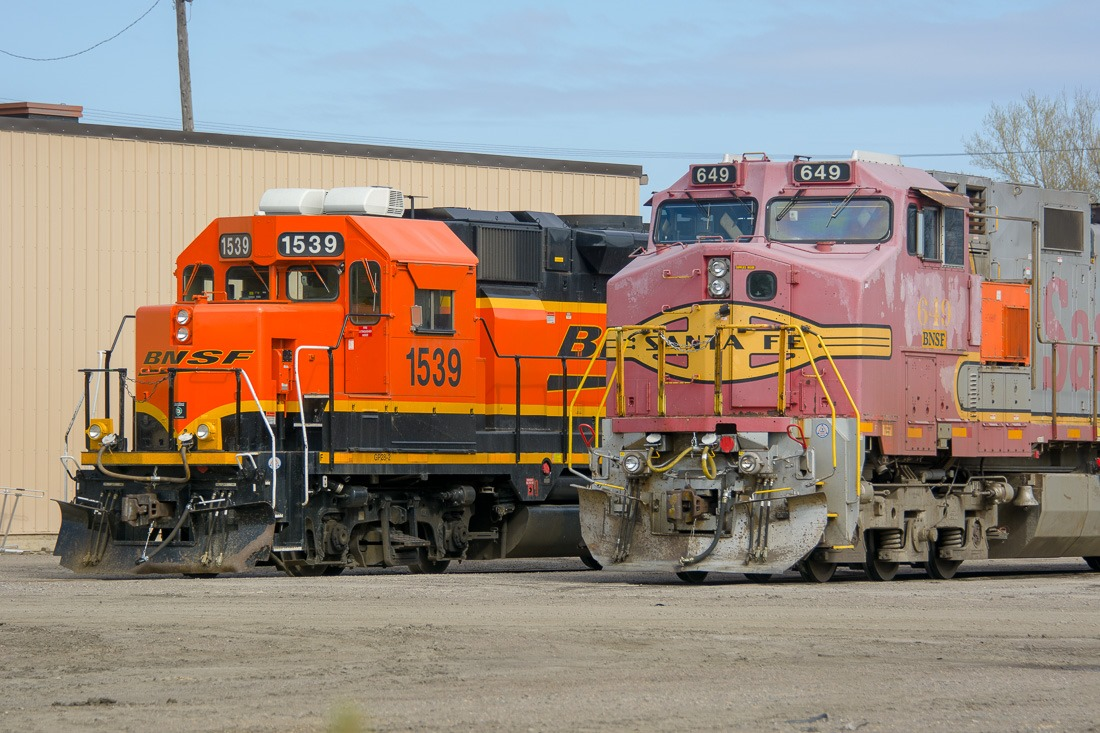 Locomotives at the end of the line
