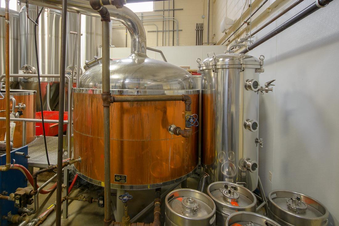 Beer in progress