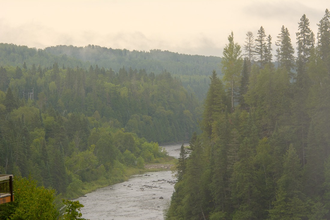 Downstream of the Kakabeka Falls