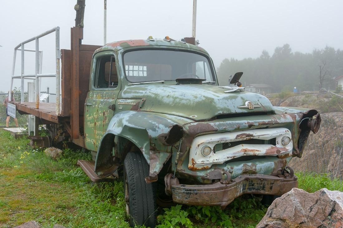 A million dollar truck