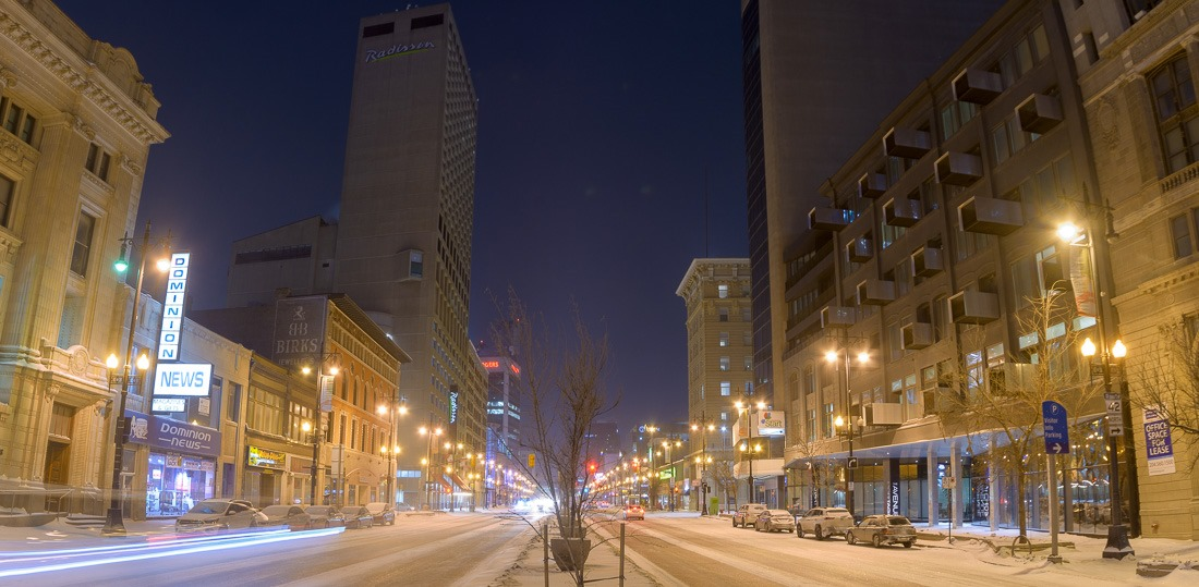 Portage avenue, Winnipeg