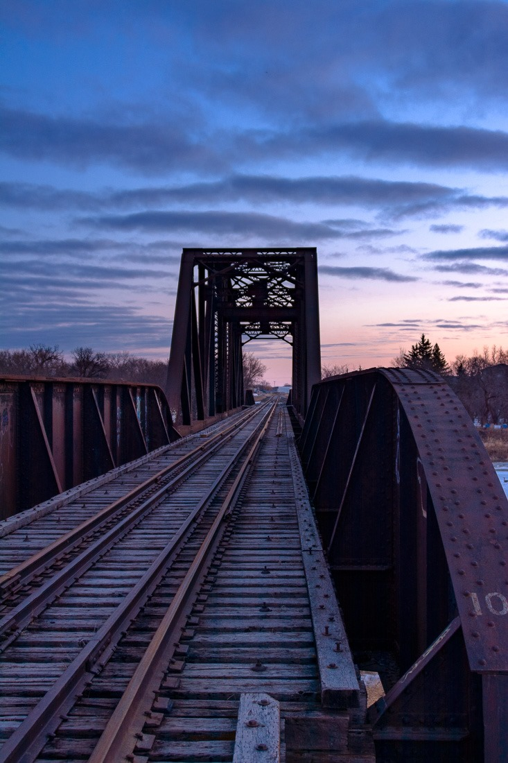 Headingley train bridge