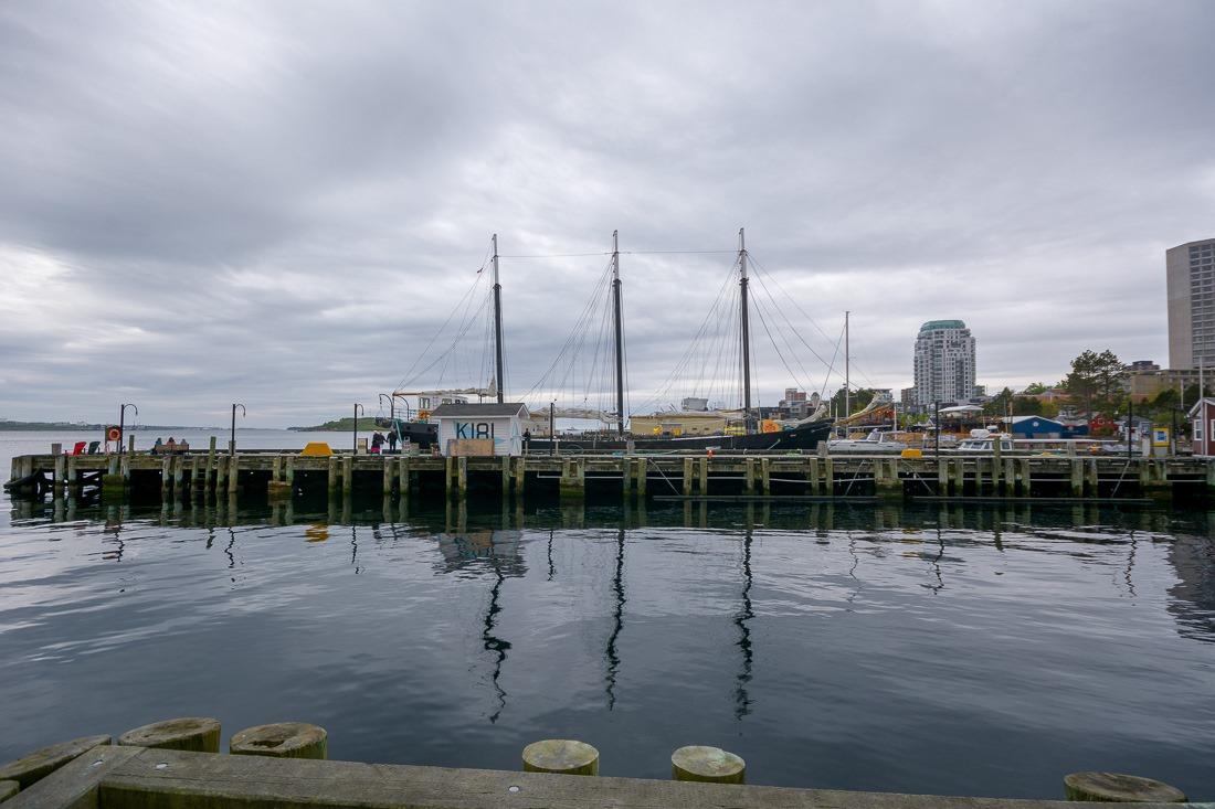 Halifax docks