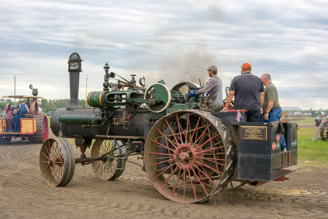 Intricate machinery