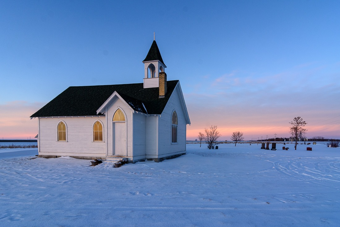 Union Point Church, Manitoba