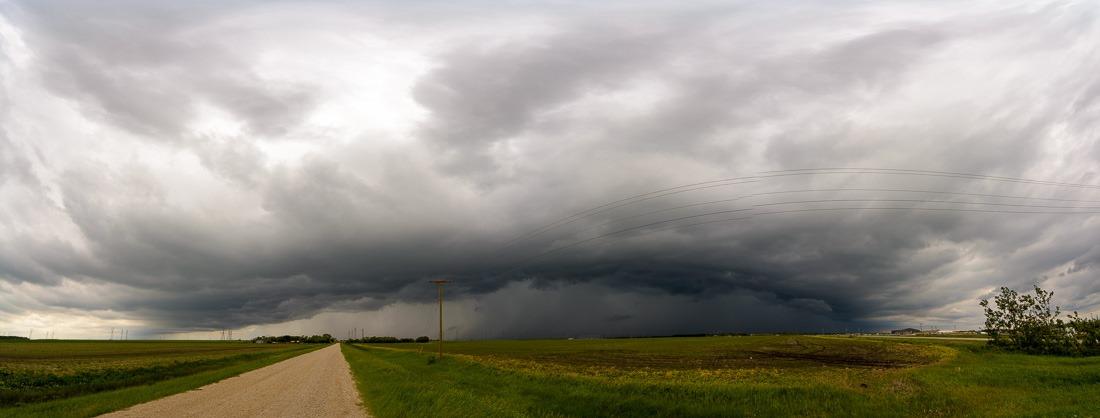 Storm over Winnipeg, MB