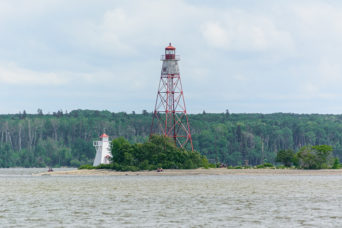 Young and old lighthouses