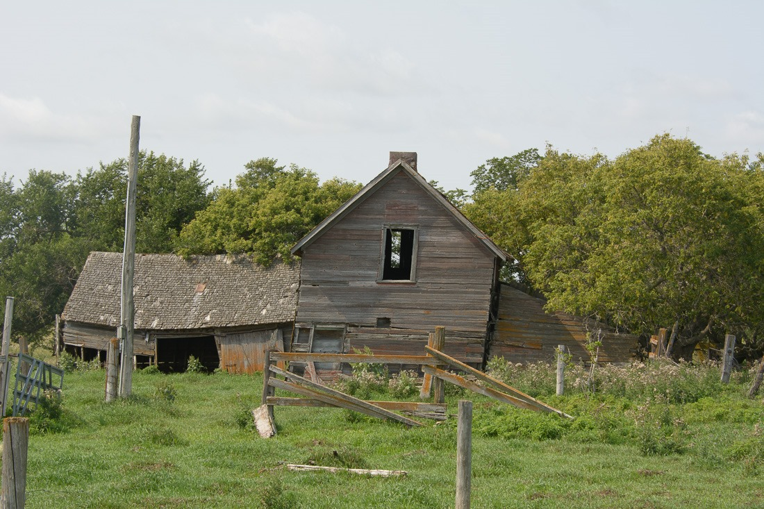 Old and forlorn