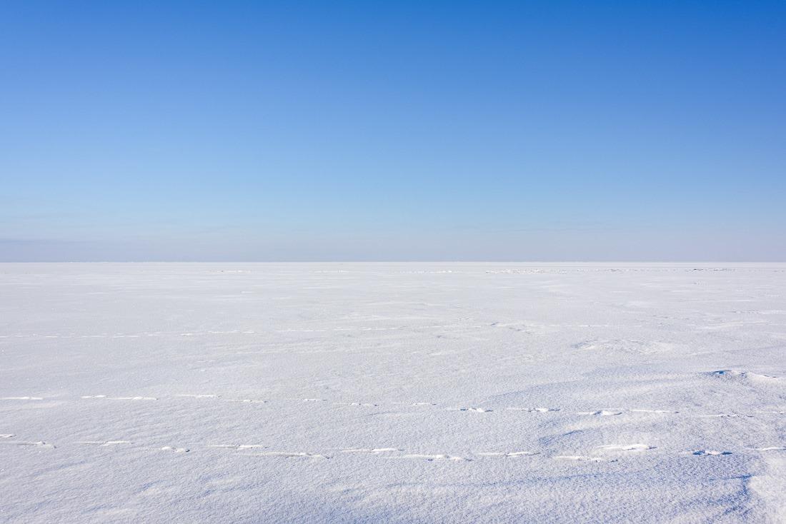 It's a wide white world on Lake Winnipeg