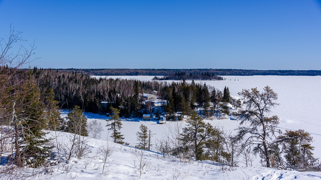 A view over the Big Whiteshell Lake