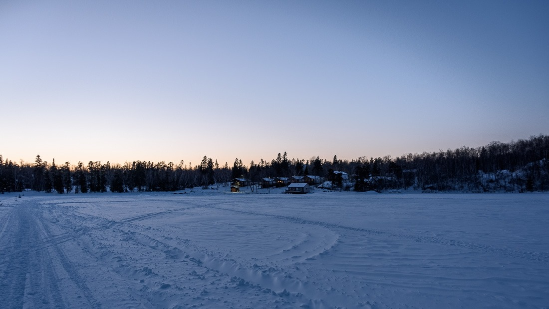 Big Whiteshell Lodge seen from the lake