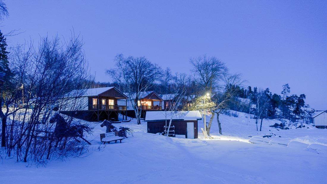Big Whiteshell Lodge cabins