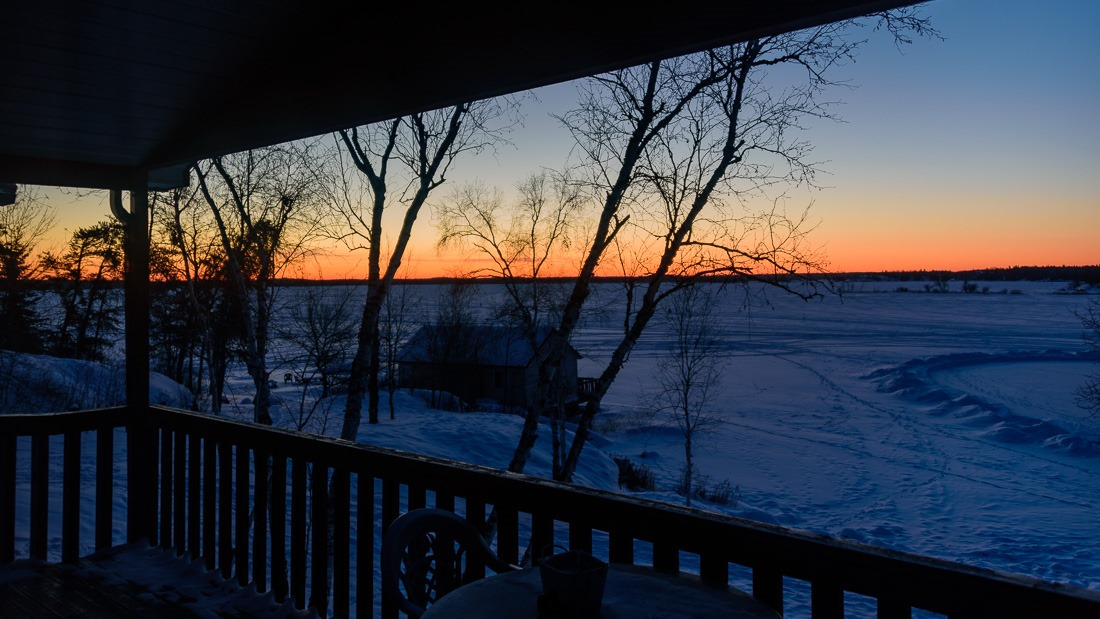 Waking up by -35C