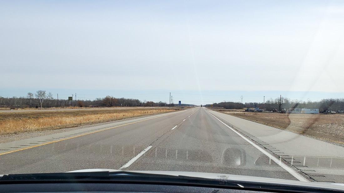 Leaving Winnipeg