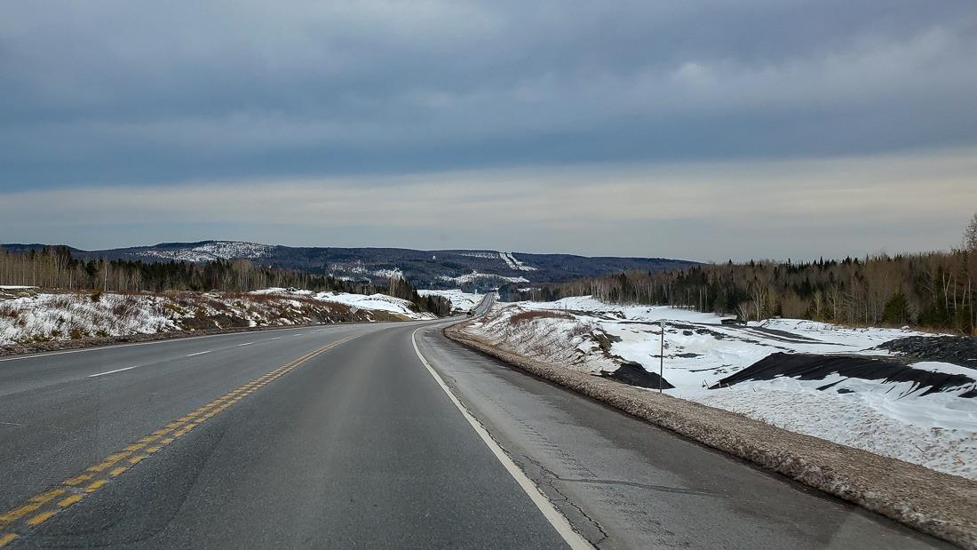 On the way to New Brunswick