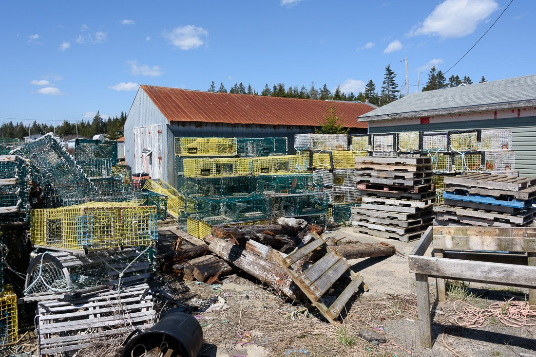 Tools of the trade in Little Harbour