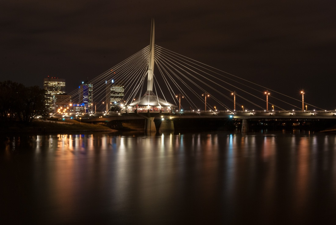 Provencher Bridge – 61s f/22 ISO100