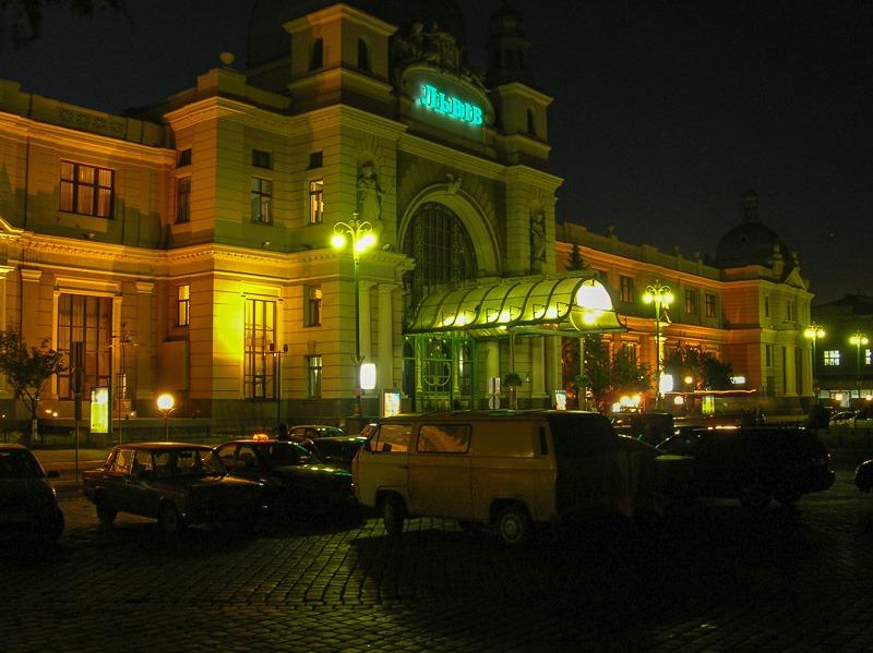 L'viv Central Station, L'viv, Ukraine