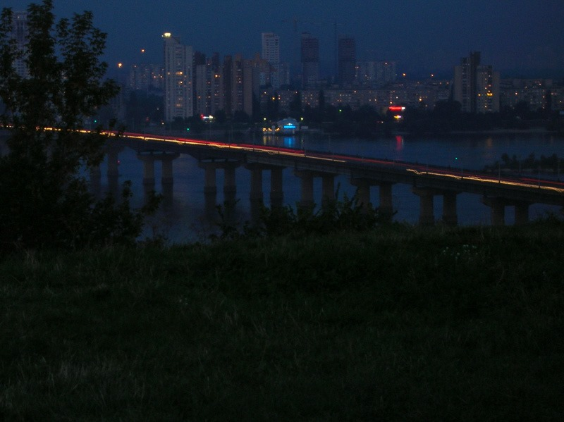 Patton Bridge, Kiev, Ukraine