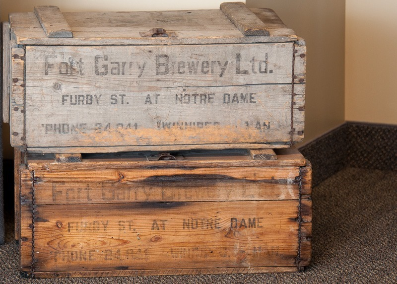 Beer crates, they don't make 'em like that anymore