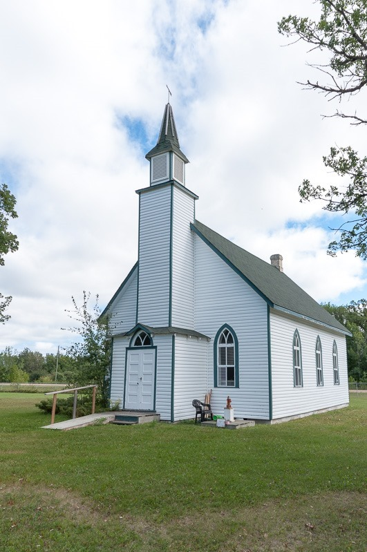 Anglican church of St. James, Libau, Manitoba