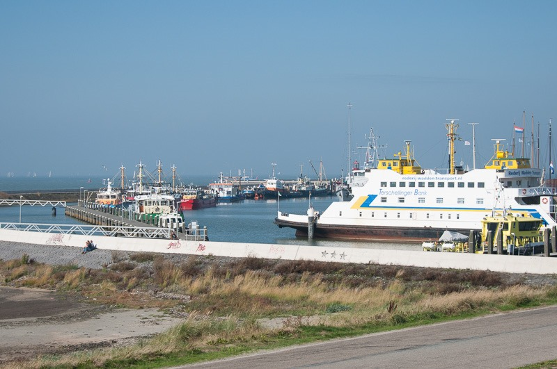 The ferry to Terschelling, one of the Wadden Islands