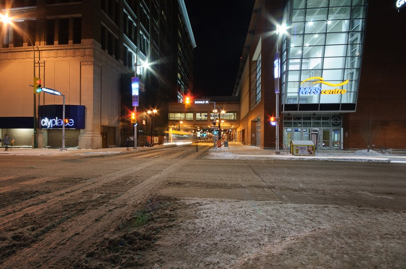 Graham Street, downtown Winnipeg
