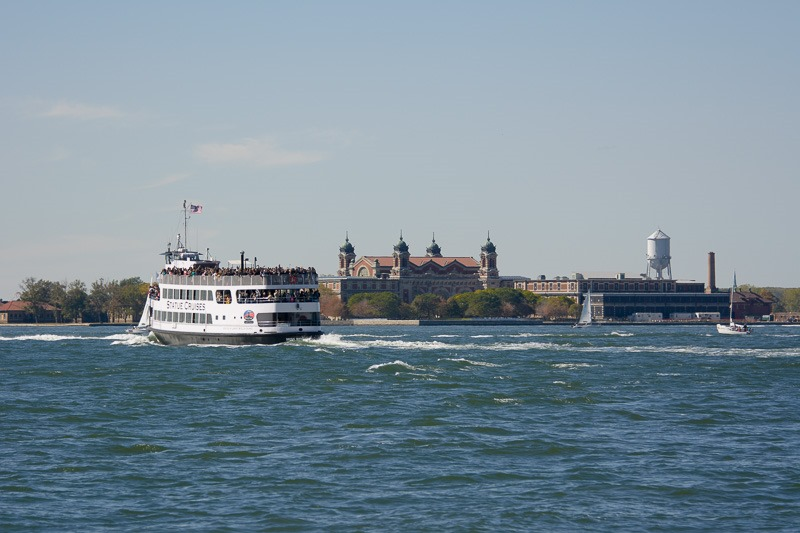 Ferry and Ellis Island
